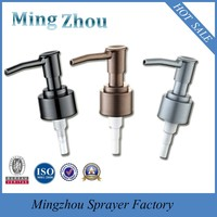 MZ-B18 24/410 ABS plastic metal appearance lotion dispenser pump for liquid soap or shampoo