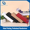 Customized White Black Cardboard Garment Packaging