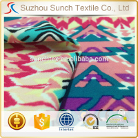 floral prints nylon spandex swimwear fabric