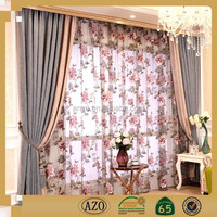 European pastoral style lace cheap curtains