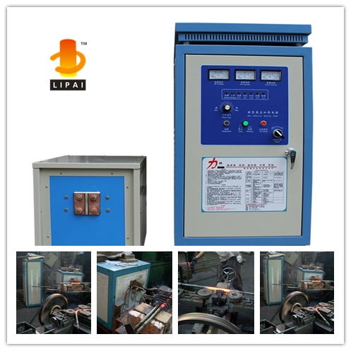 High Frequency U shape nuts and bolts induction forging machine 40KW