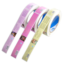 Printing adhesive roll labels paper personalized label sticker