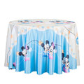 Theme Party Tablecloth Cartoon Kids Happy Birthday Party Table Cloth Table cover