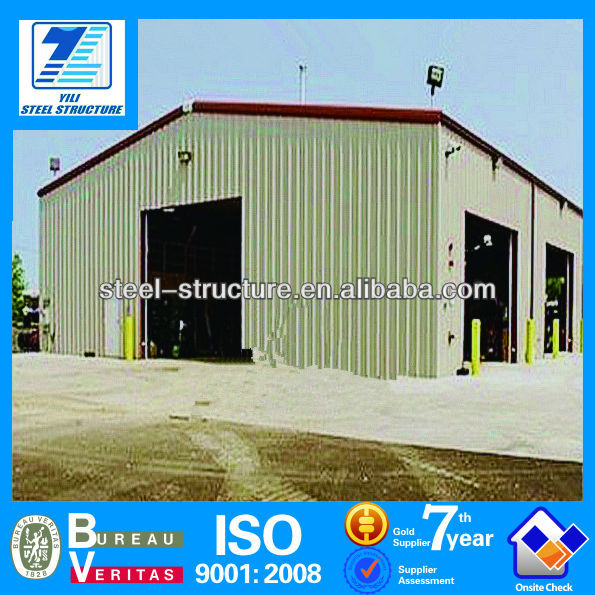 ISO9001:2000 prefabricated warehouse miami