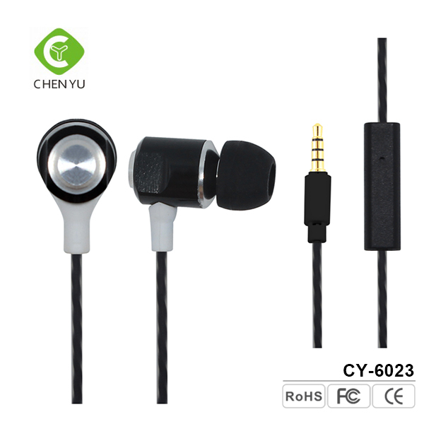 Wired cheap stylish stereo in ear earphones manufacturer