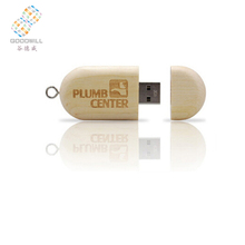 China Wholesale Cheap Promotional 1Gb 8Gb Wood Memory Flash Drive With Logo Print Usb Stick