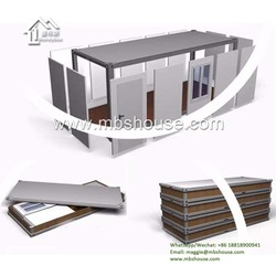 Guangzhou Sandwich Panel Knock Down Flatpack Container House