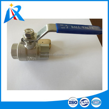 The 1/8 inch to 4 inch SUS 304 or SUS 316 material two piece 1 1/4 / 1 inch / 1.5 inch stainless steel ball valve