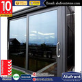 Australia AS2047 Standard Aluminum Architectural Sliding Doors Series for commercial project