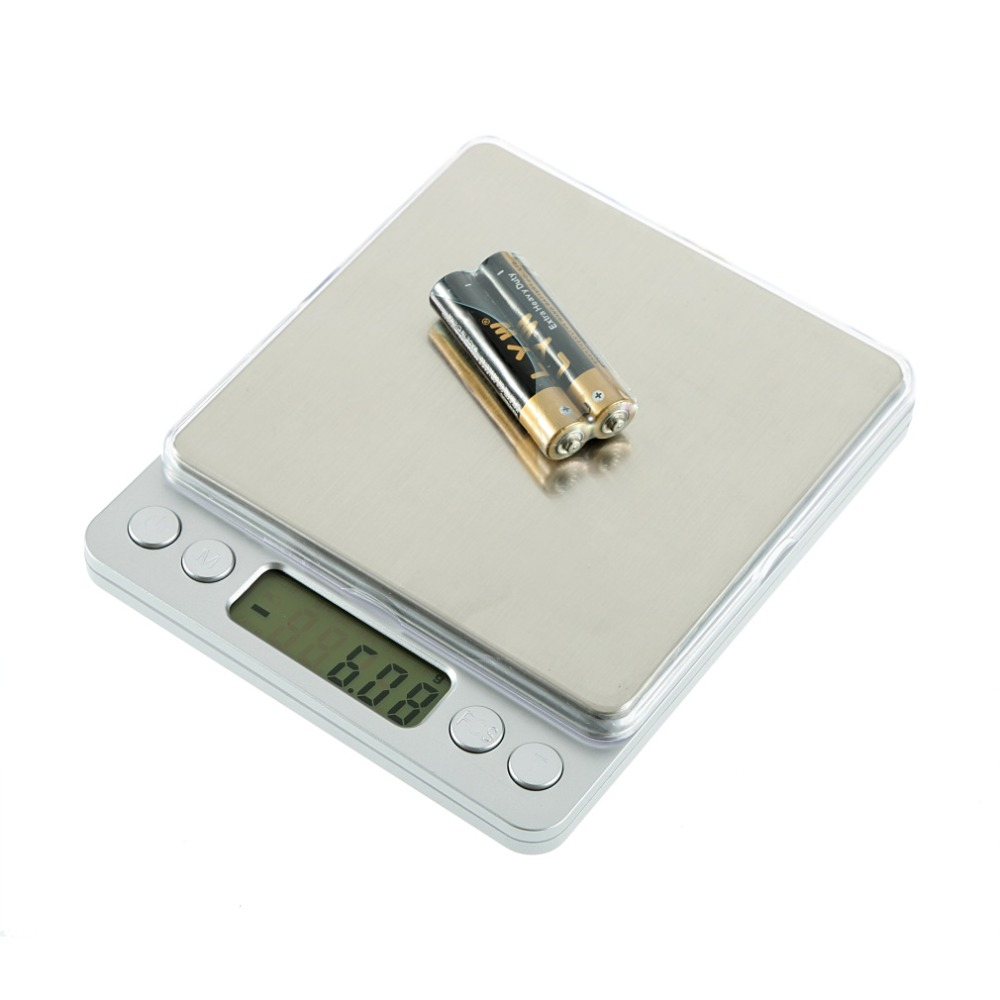 300g x 0.01g Digital Scale WH-I2000 0.01g Superior Mini Digital Platform Scale