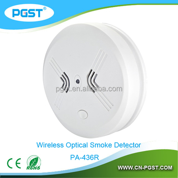 best prices wireless smoke detector for home security system 433 868mhz pa 436r buy smoke. Black Bedroom Furniture Sets. Home Design Ideas