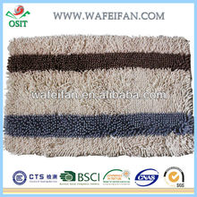 latex backing washable rug and carpets