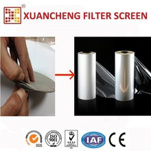 Stretch Film Making Machine using stainless steel mesh screen metal cutting discs