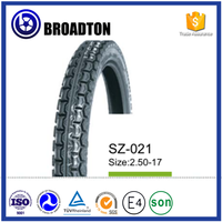 Factory supply tyre and inner tube mountain road color motorcycle tires