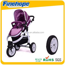 eco-friendly polyurethane baby stroller wheels wholesale