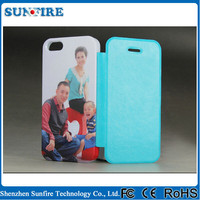 2015 newest 3d flip effect phone case for iPhone 5s, sublimation blank flip case, sublimation mobile case