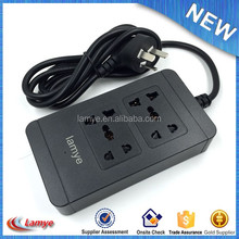 International Universal 100% Brand New 4 usb portable power outlet for Travel