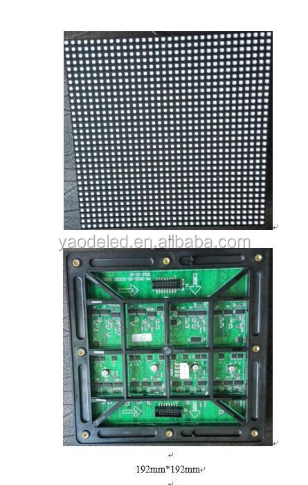 P6 smd outdoor fullcolor led module/led display cabinet/ outdoor fullcolor led display