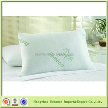 Hotel bamboo memory foam pillow/bamboo pillow shredded memory foam filling