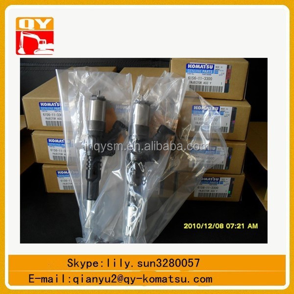 excavator spare parts pc450-7 injector assy 6156-11-3300