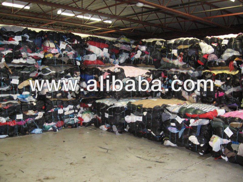 Mixed Used Clothing From Door to Door collection
