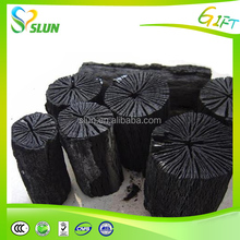 High quality barbecue black lump stick hardwood charcoal