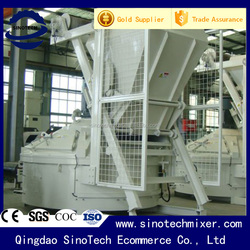 2m3/batch stationary planetary china concrete mixer with high quality