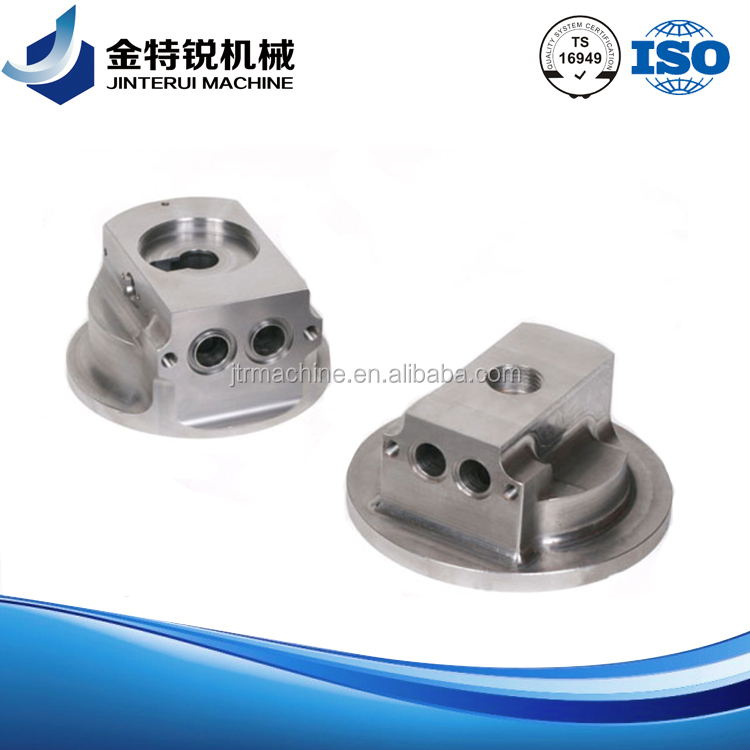 OEM aluminum machined spare parts for warp knitting machine