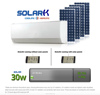 2014 Best sale amazing saving efficiency product split wall mounted 24000BTU 100% solar air conditioner of panel solar