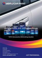 Automotive Refinish Paint Liquid Color