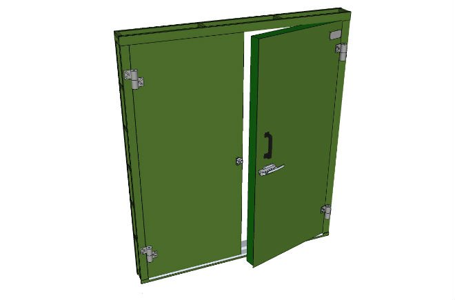 ACOUSTIC STEEL DOOR