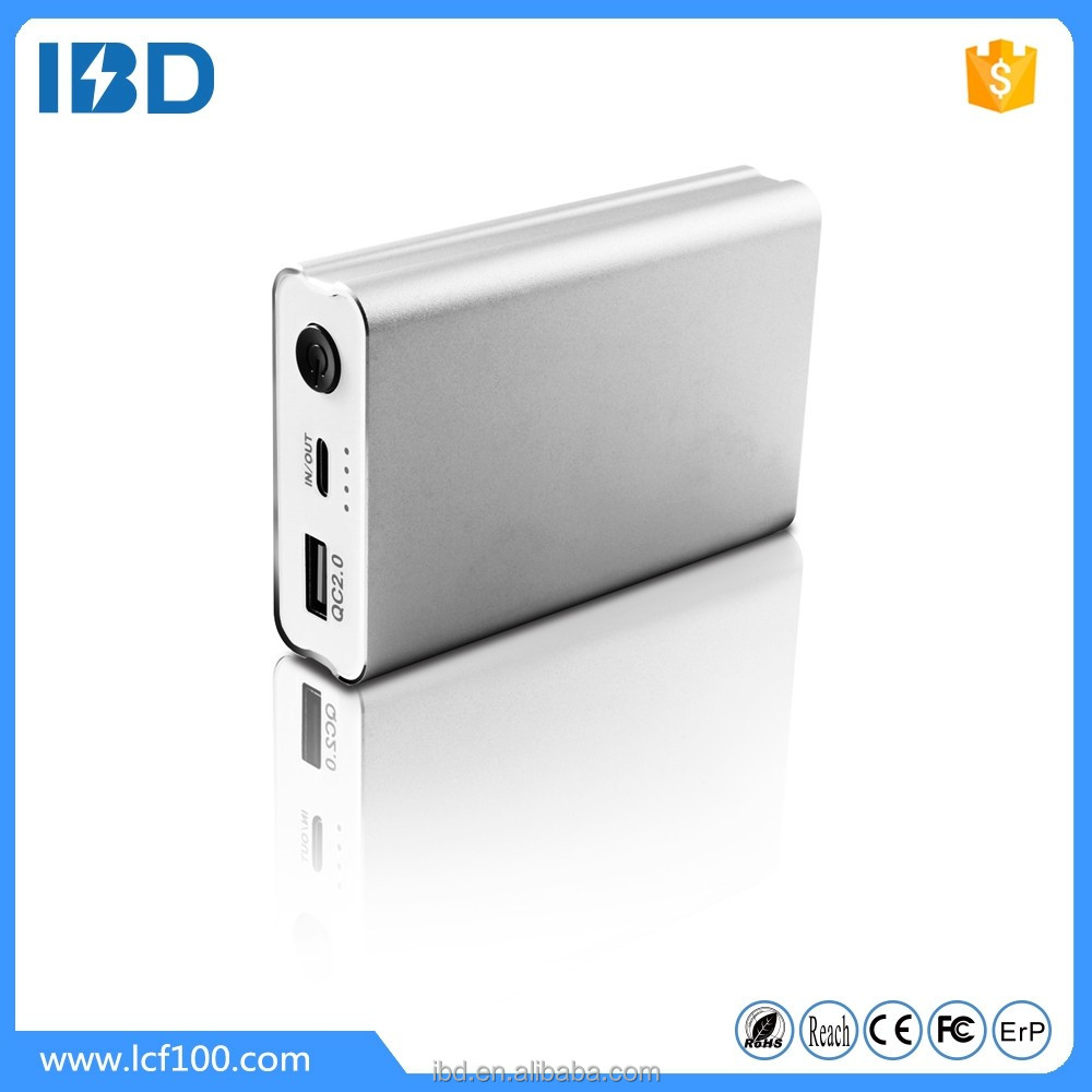 IBD 2016 famous brand mobile slim power bank with 10000mah for sony xperia z ultra/samsung