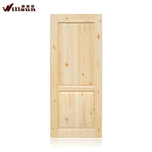 Manufacture low price cheapest beach wooden door on sale