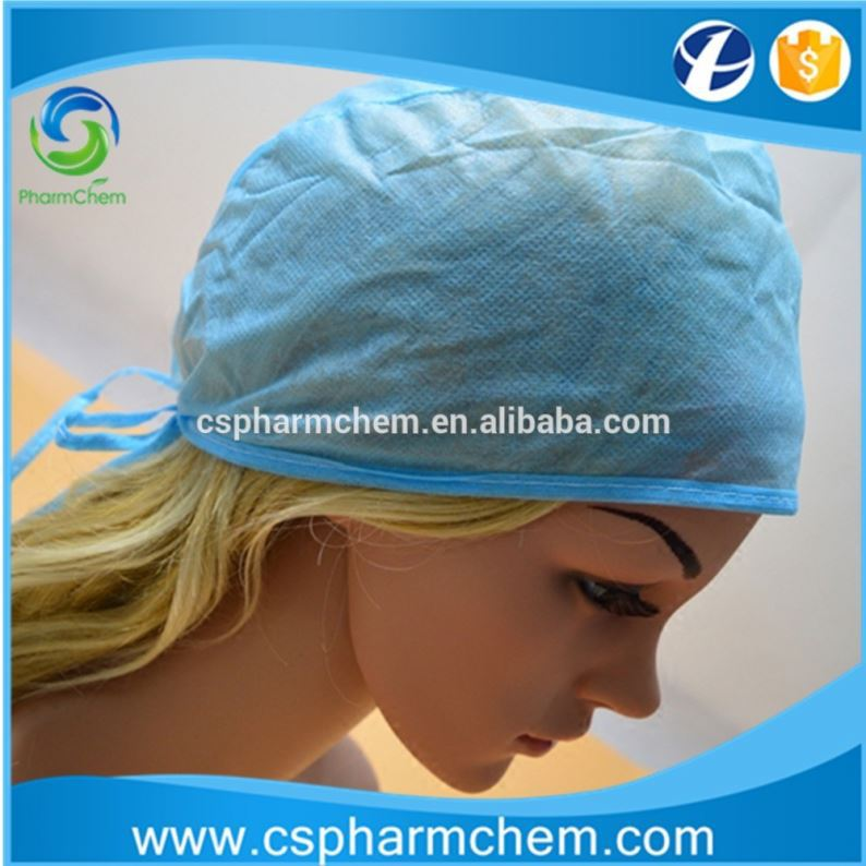 Medical equipment cheap disposable non woven PP surgeons mob cap