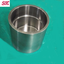 high purity tungsten crucible tungsten cup/melting pot