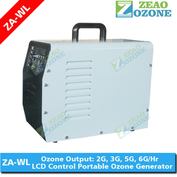 2G 3G 5G 6G portable ozone generator with LCD control panel for water and air treatment