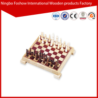 highlights fashion wooden chess pieces