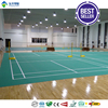 BWF approved pvc sports flooring badminton court mat