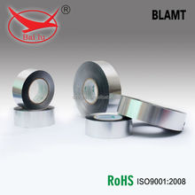 high bond heat resistant cold weather adhesive backed aluminium foil tape for AC ducting