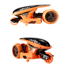 Hot Sale! Toy for Kids Radio Control 4CH Stunt High speed RC Motorcycle