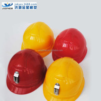 Head protect helmet/ABS safety helmet with on rib-Yellow helmet for mining