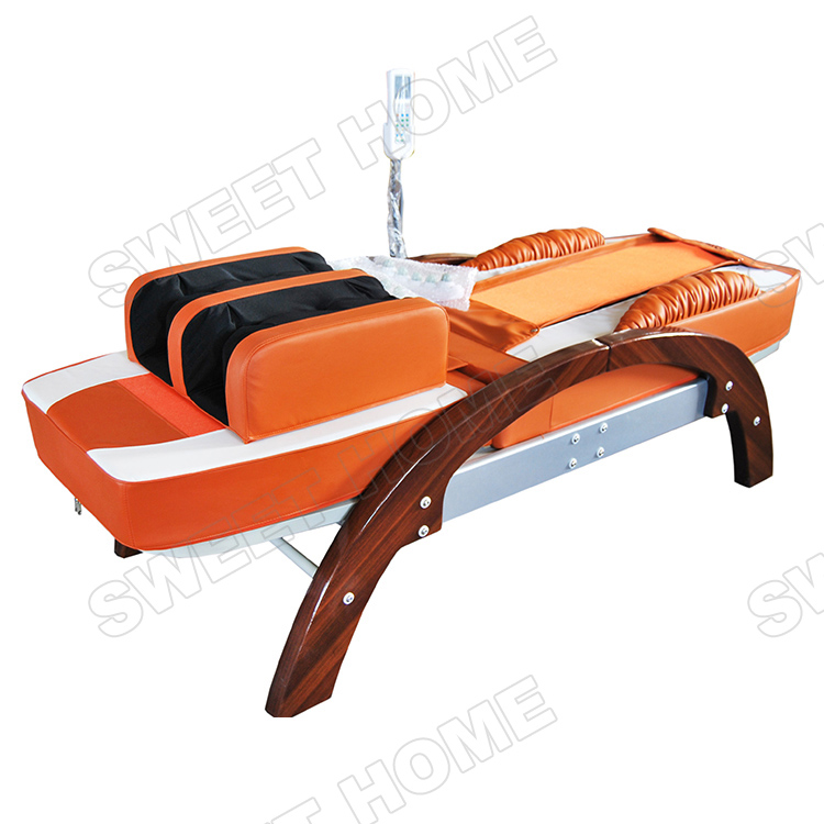 Electric Automatic Full Body Air Acupressure Thai Jade Massage bed