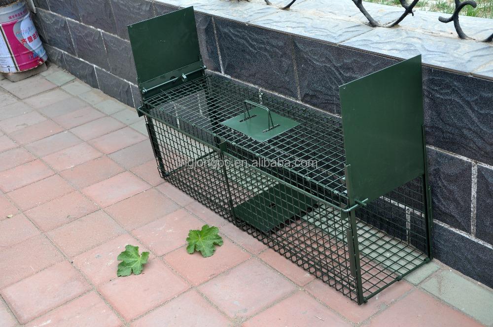 trappola gabbia volpe animale di grandi dimensioni gatto gabbia trappola trappola roditore. Black Bedroom Furniture Sets. Home Design Ideas
