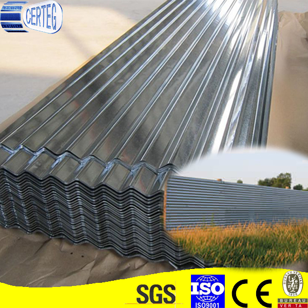 0.14mm thickness Z80 GI roof galvanized metal roofing sheet