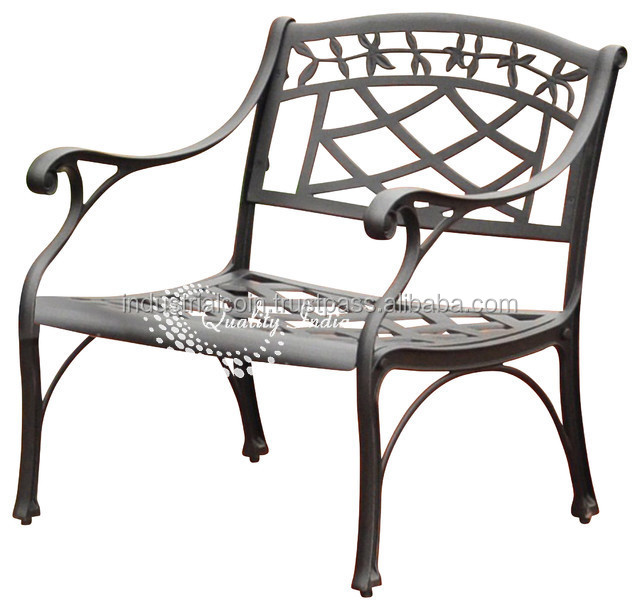 Metallic Designer Bench Type Garden Chair