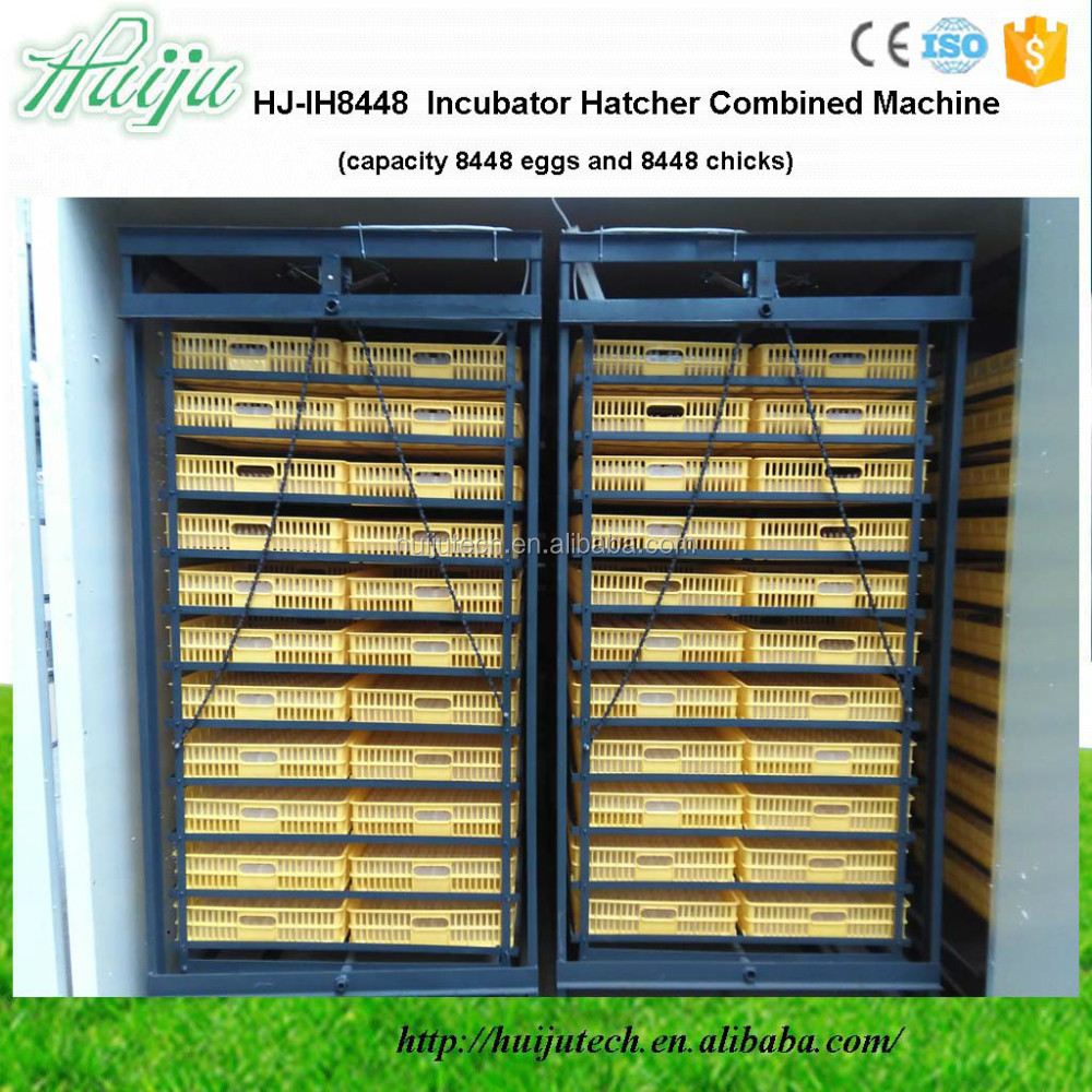 CE-approved 6336 chicken egg incubator hatching machineHJ-IH6336