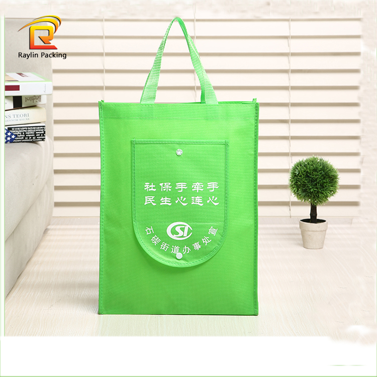 Eco friendly Foldable polyester shopping Tote bag
