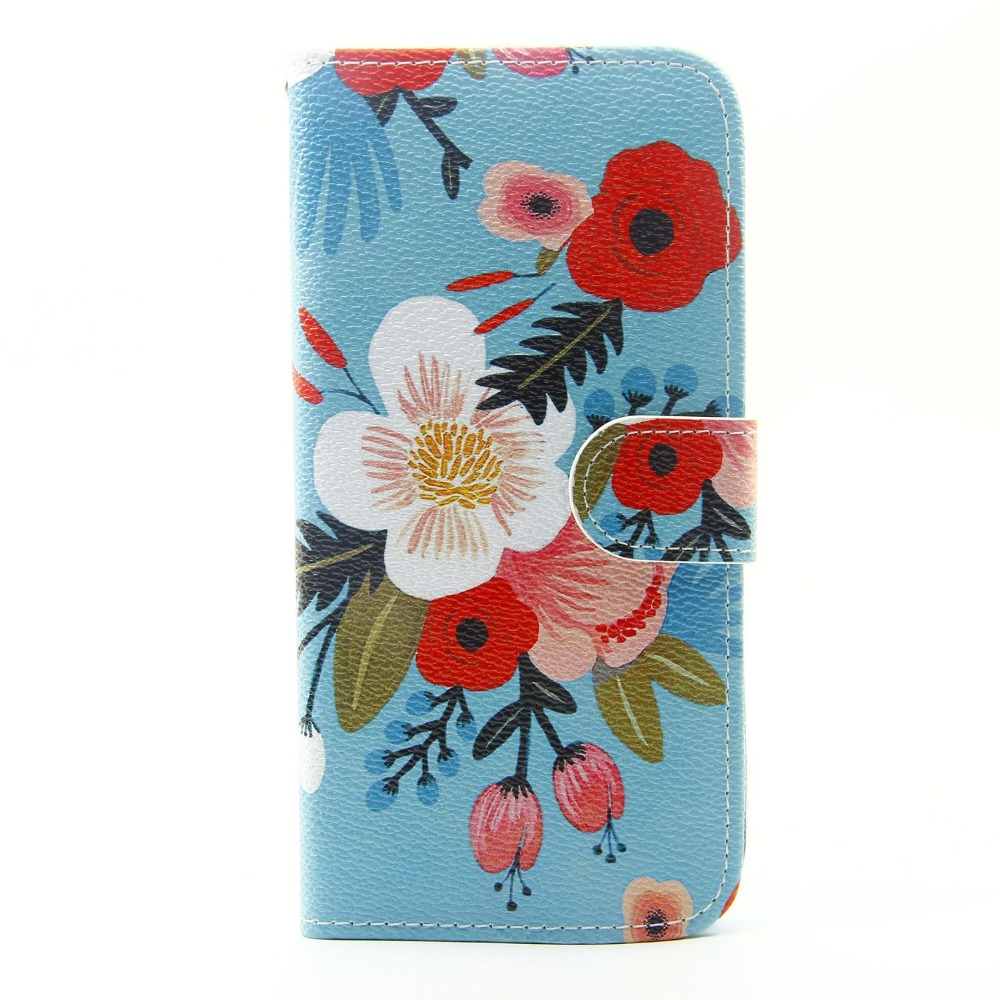 sublimation leather phone case Custom design wallet flip leather cell phone case for samsung galaxy s7 edge