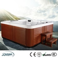 2014 Newest Arrival Outdoor Air Stainless Steel Jets China Small Bathtub Sizes with Sex Video JY8012
