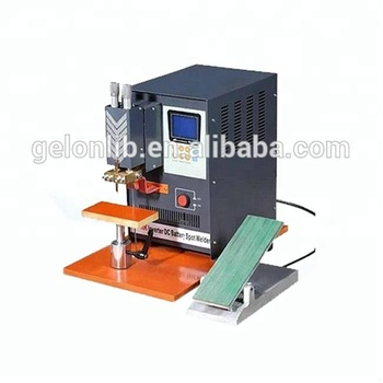 Single Point Pneumatic Welding Machine for Cylinder Cell-18650-26650
